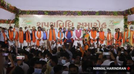 After CM change, all-new ministry for Gujarat; 7 OBCs, 7 Patidars in