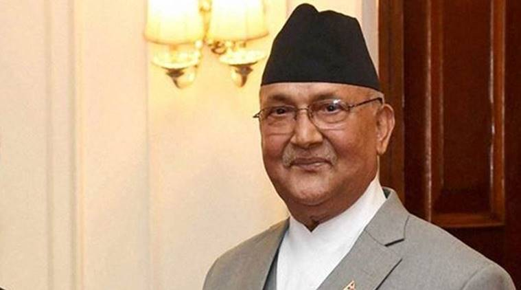 KP Oli, Nepal prime minister, Nepal prime minister KP Oli, Nepal new map, World news, Indian Express