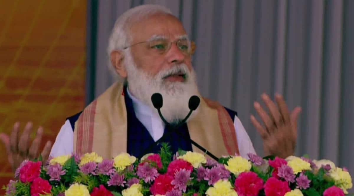 PM Modi in West Bengal, Assam Live Updates: PM addresses gathering in Sivasagar
