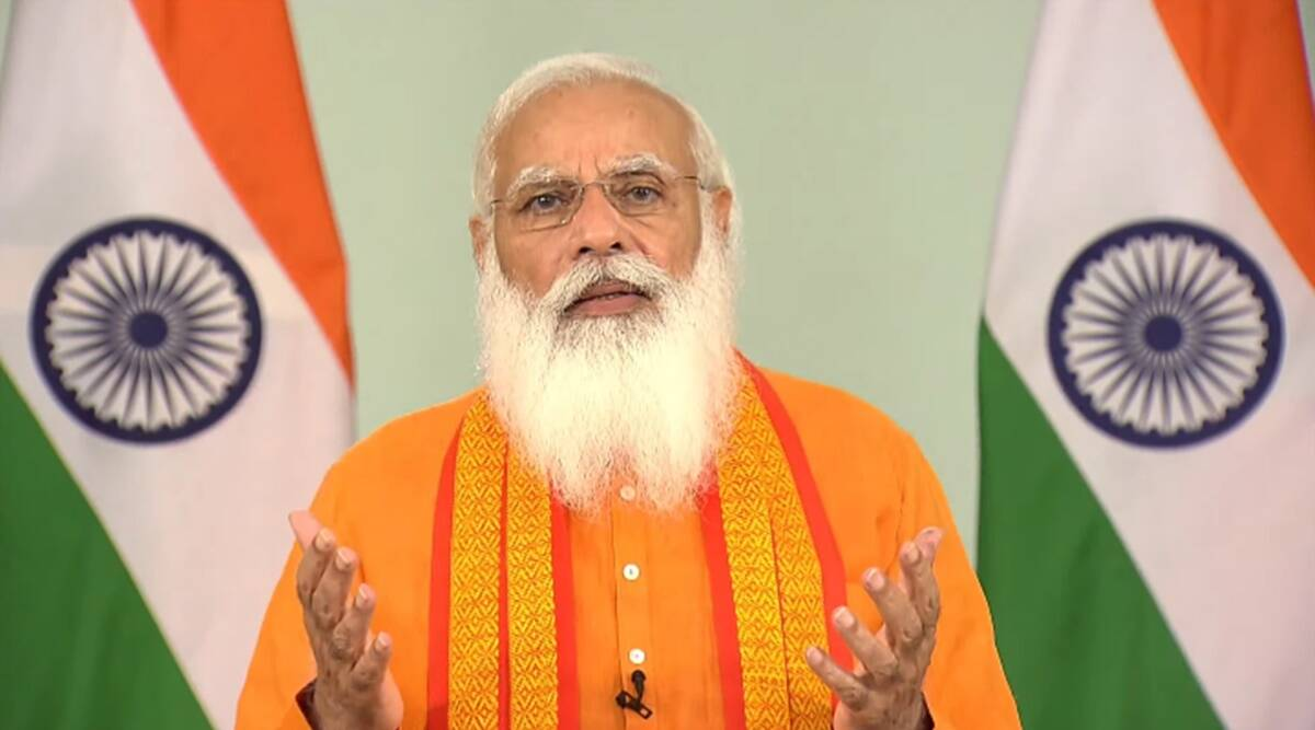 Yoga ray of hope when world fighting pandemic, says PM
