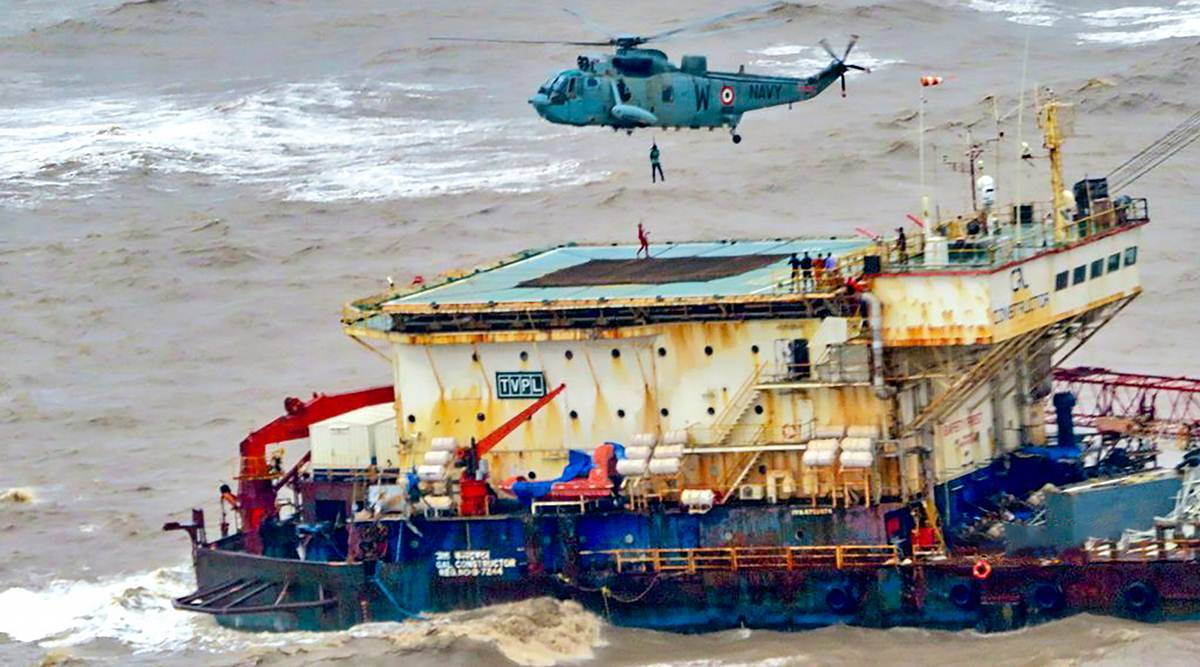 Safety onus on the barge owner, Capt ignored Cyclone Tauktae warnings: ONGC, Afcons