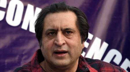 Sajad Lone released, Jammu and kashmir, abrogation of special status, Sajad lone news, Article 370, India news, indian express