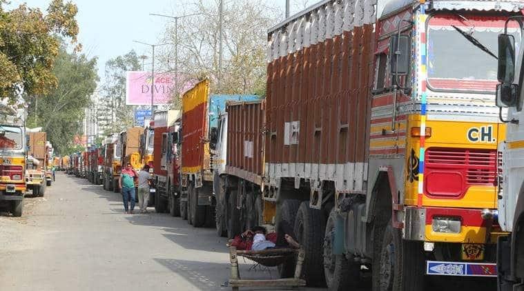 Lockdown delays supply of essential items