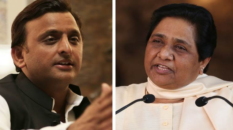 Lohia, Ambedkar in frame, SP says will stay with BSP for long