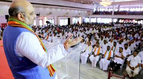 RSS conclave:  Amit Shah sends out list on how to counter negative news