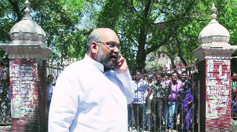 The Congress Saturday approached the poll panel seeking that Amit Shah be arrested. (PTI)