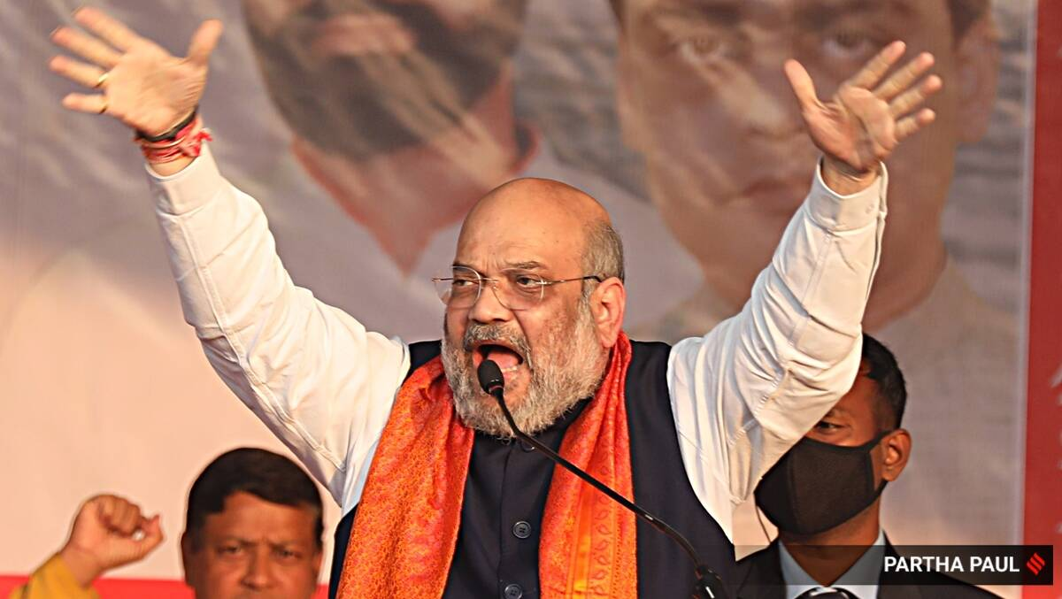 amit shah, bjp, west bengal elections, west bengal bjp election manifesto, west bengal news, indian express news