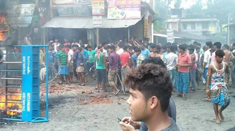 Barishant protests, section-144, Baduria protests, curfew, baduria violence,