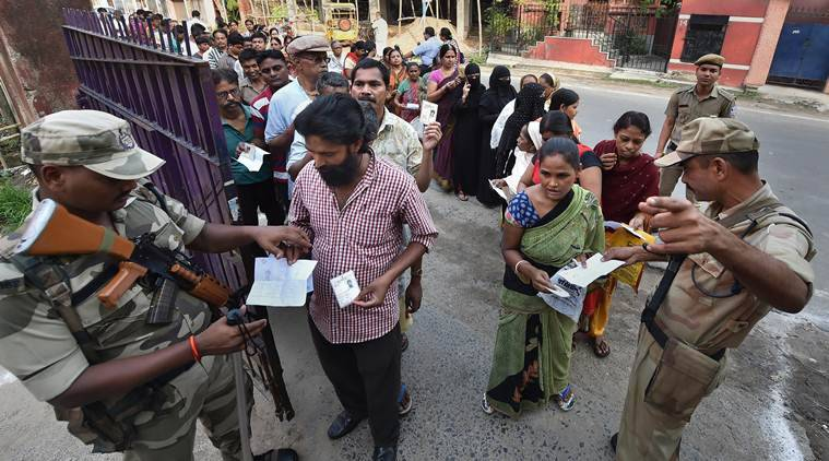 Voting concludes for fifth phase of Lok Sabha elections; 51 constituencies across seven states seal fate of bigwigs