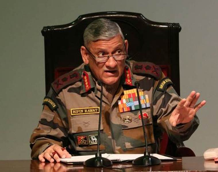 Need to tell youth Azadi will never happen, you can't fight us: Army Chief General Bipin Rawat