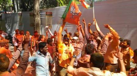PMC election results 2017: BJP triples its seat-share, falls short of majority