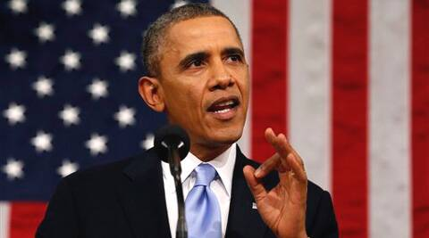 I'm eager to work with all of you, Obama told the lawmakers gathered for the annual speech. (AP)