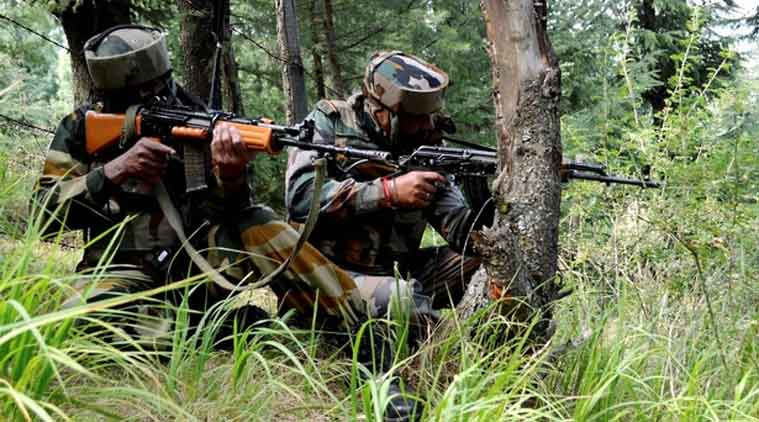 Image result for Pakistan Rangers shell Indian posts in Jammu