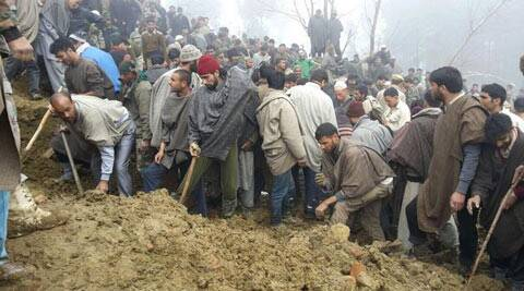 Kashmir floods LIVE: Many feared dead as houses collapse in Budgam district