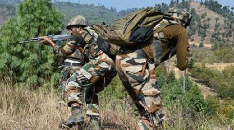 Pakistan Rangers violate ceasefire again, fire mortars along border