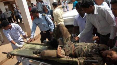 At least 14 persons including civilians, CRPF men and polling officials have died in multiple attacks by Maoists.