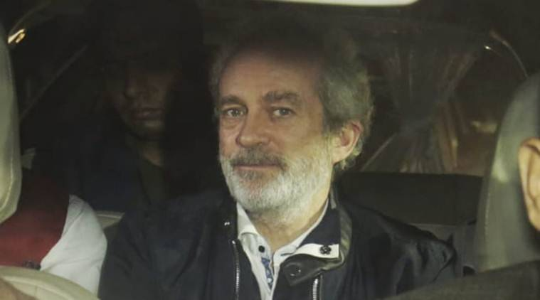 christian michel, christian michel extradition, vvip chopper case, money laundering, judicial custody, indian express news