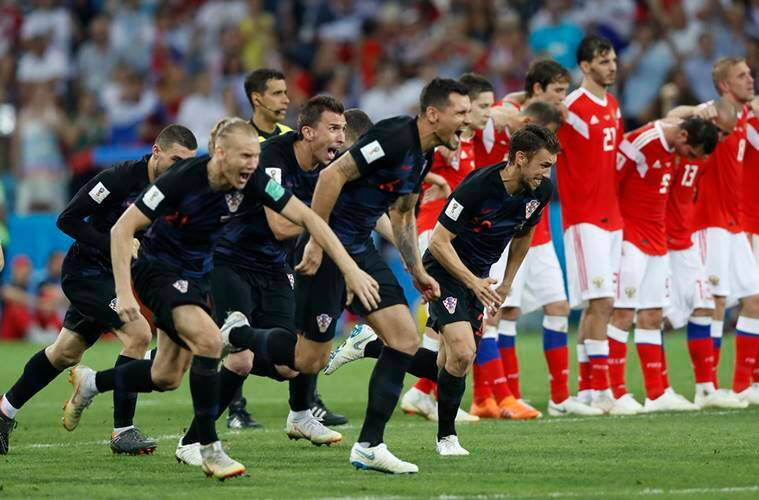 Image result for russia croatia 2018