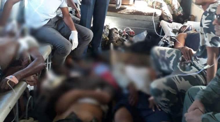 In 2010, 76 CRPF personnel were killed in Sukma in a Maoist attack.