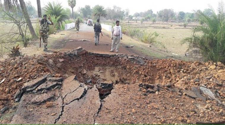 chhattisgarh ied blast kills 7 crpf personnel in
