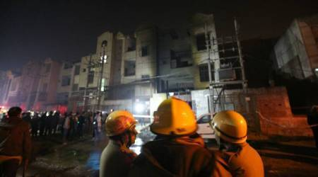 At least 17 killed in fire at illegal firecracker storage unit in Delhi's Bawana industrial area