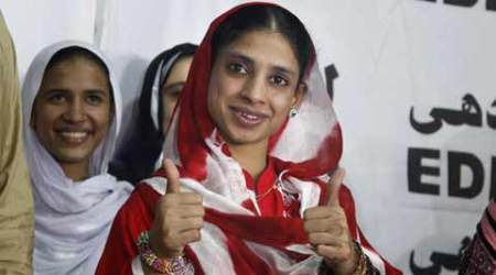 Geeta, who returned to India from Pakistan, hoists tricolour at Indore