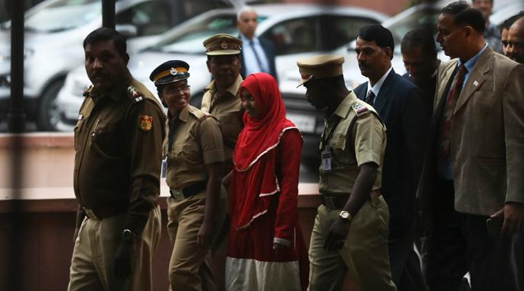 Hadiya appeared before the Supreme Court today in the 'Love Jihad' case