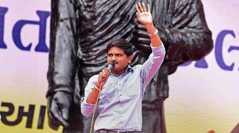 Hardik Patel in Delhi, to hold talks with leaders of communities demanding reservation