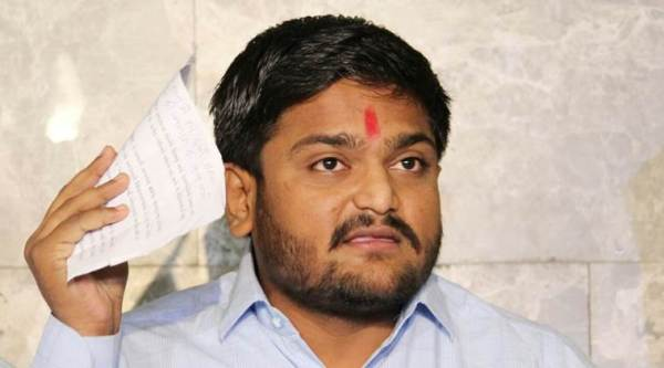 Hardik Patel supports Congress for Gujarat polls