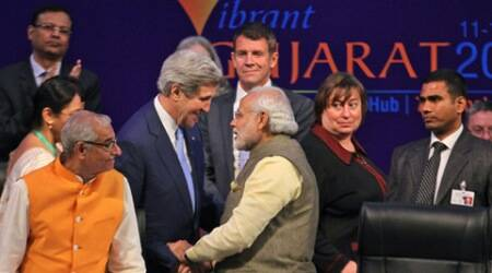 John Kerry lauds Narendra Modi, says India-US healthy relations will continue todeepen
