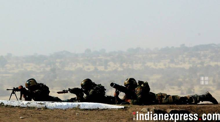 Indian Army, Pakistan, Jammu Kashmir, Line of Control, Poonch district, Pakistani soldiers killed, Army Day, Bipin Rawat, Indian Express