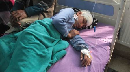 Shopian school bus attack victim suffers head injury