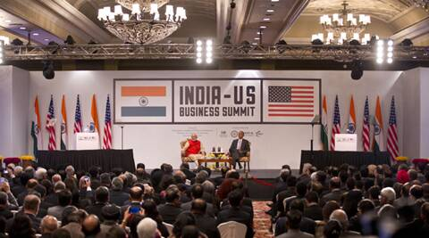 "Indo-US CEO summit: Modi pledges open business environment; Obama pushes for ""simplicity"" in tax system"
