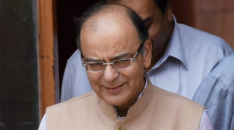 New Delhi: Union Finance Minister Arun Jaitley after a Cabinet meeting at South Block in New Delhi on Wednesday. PTI Photo by Subhav Shukla (PTI6_29_2016_000068A)