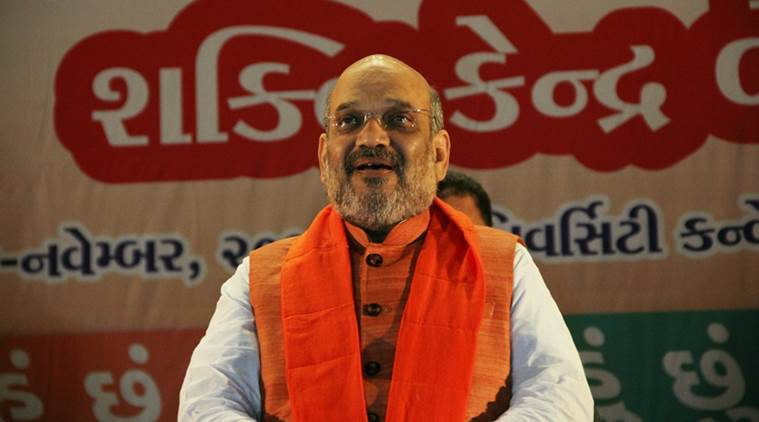amit shah, karnataka bjp, karnataka polls 2018, karnataka assembly elections 2018, manohar parrikar, mahadayi river water, indian express