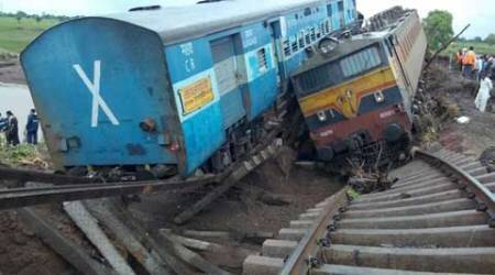 Trains derailed: 12 bodies found half a km away from accident site