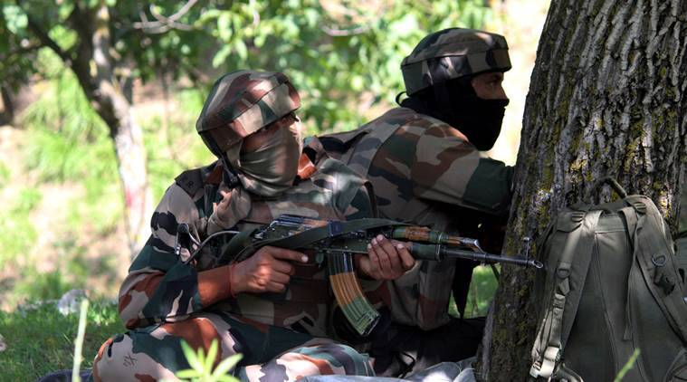 Four Hizbul militants killed in Shopian encounter, jawan succumbs to injuries
