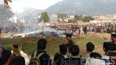 Jammu chopper crash: Pilot was among first women pilots in IAF