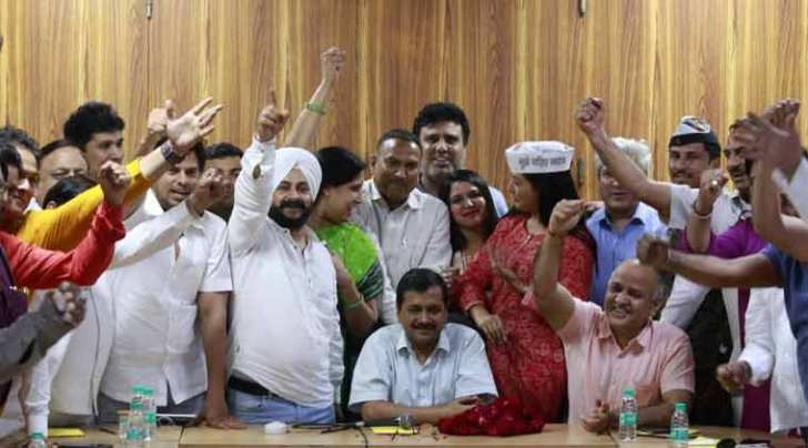 AAP Mlas disqualification, office of profit