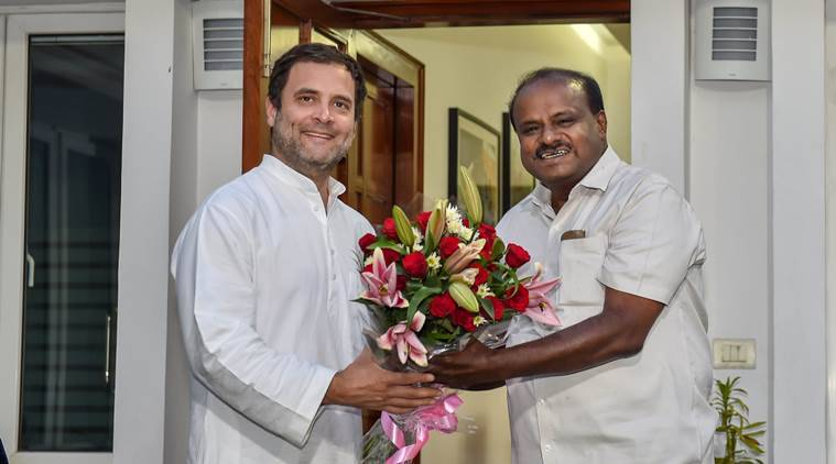 Kumaraswamy swearing-in LIVE: JD(S) leader to take oath as Karnataka CM today, Congress gets Deputy CM