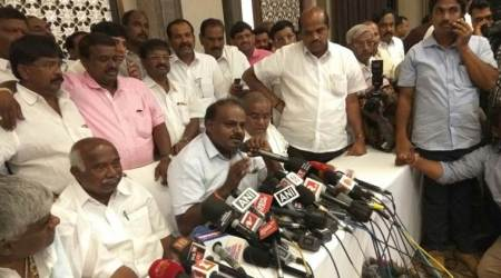 Kumaraswamy says BJP offered Rs 100 crore to JD(S) MLAs to defect, Javadekar calls charge 'imaginary'