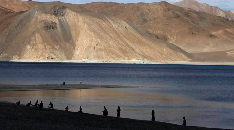 Pangong Tso ladakh, india china border row, india china galwan clash, galwan faceoff, chinese intrusion lac, line of actual control, ladakh indo china,