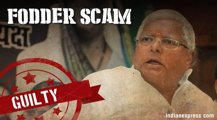 Fodder scam: Lalu Prasad, Jagannath Mishra found guilty in third case; both sentenced to five years in jail