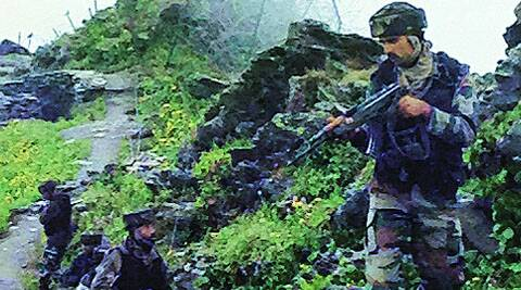 'Pak infiltrators out there somewhere in the forest...waiting, just like us'