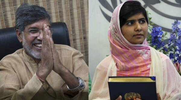 Satyarthi and Yousafzai were picked for their struggle against the suppression of children and young people, and for the right of all children to education, the Norwegian Nobel Committee said. (Source: AP)