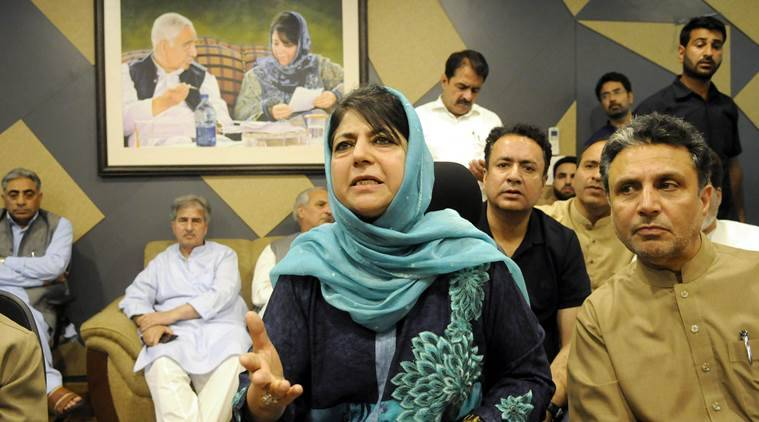 War of words: Mehbooba Mufti hits back; BJP disowning its own initiative as 'soft'