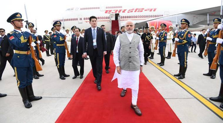 Prime Minister Narendra Modi arrived in Qingdao in China on Saturday. (Photo: Facebook/@narendramodi)