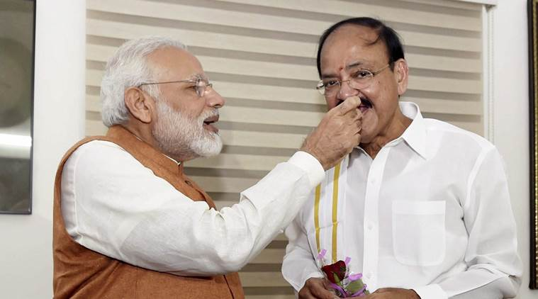 M venkaiah Naidu, venkaiah naidu, Vice president, Venkaiah Naidu vice President, Gopalkrishna Gandhi, Vice presidential election, Vice presidential elections, venkaiah naidu wins, vice president of india, 13th vice president of india, gopalkrishna gandhi, india news