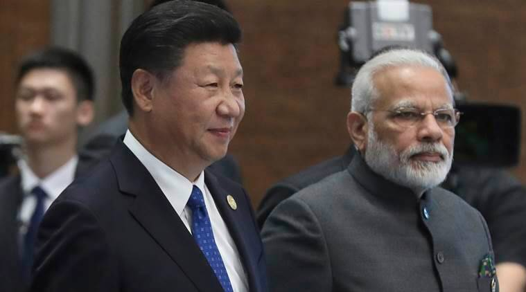 brics summit 2017, narendra modi, modi xi jinping meet, brics summit, xi jinping, modi brics china, modi brics doklam, modi in china, xi jinping, doklam, modi doklam issue, indian express news