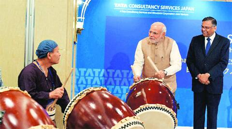 PM keeps music playing: No red tape, only red carpet for Japan